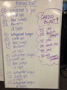 Rep Out Week - Personal Trainer Jill Hitt Workout, Gym Workouts, At Home Workouts, Crossfit Wods, Daily Workouts, Workout Fitness, Box Jumps, Burpees, Personal Trainer Cost