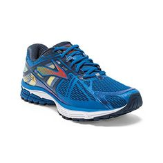 c32c1324d3d Men s Brooks Ravenna 6 Running Shoe Skydiver Red Orange Cyber Yellow Size  12 M US - From Shoes to Sandals
