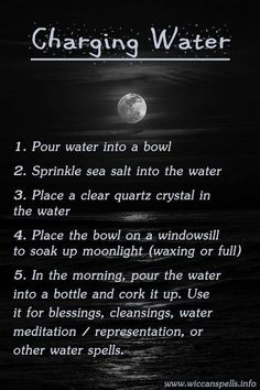 thewitch, gravez669: How To Charge Water.