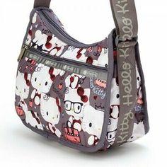 LeSportsac Hello Kitty Mini Shoulder Bag Purse Pouch Pochette Japan for sale online Sanrio, Hello Kitty Themes, Hello Kitty Purse, Cartoon Fashion, Feed Bags, Twilight Movie, Birthday List, Backpack Purse, Cartoon Styles