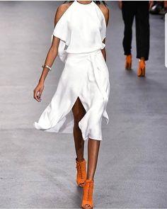432 отметок «Нравится», 3 комментариев — Styling Ideas (@fashion_for_style_) в Instagram: «#white is #definately my #color !!»