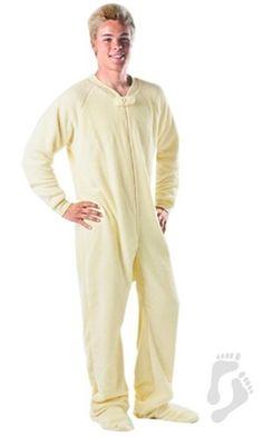 Footed Pajamas yellow - lion
