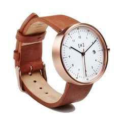 Exquisite minimalist watch with high quality components by iKi Studio. Versatile as fashion watch or dress watch for men and women. Latest Watches, Watches For Men, Mens Gadgets, Stylish Watches, Stainless Steel Case, Fashion Watches, Calf Leather, Calves, Sapphire