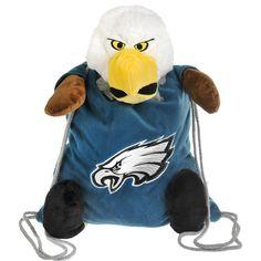 New! Philadelphia Eagles Plush Mascot Backpack Pal #PhiladelphiaEagles