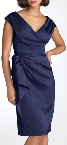 if I did not have ze flip-flap arms, this would be my MOB dress