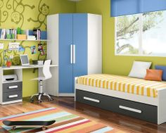 Habitación Completa Monkey, cama nido 159€: http://www.decojondepato.com/Habitacin-Completa-Monkey-447