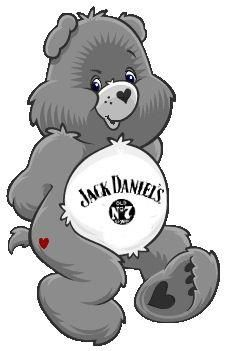 Even Care Bears are Jack Daniels fans