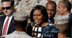 A Marine's Letter To Michelle Obama… This Marine Tells Her Like It Is! Mrs. Obama, It sickens me that I have to take time to write you this letter. I am a Marine who doesn't recognize color because every color has lived and died for you. You live in a free country to blame your