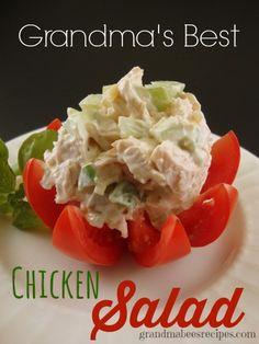 Grandma's Best Chicken Salad