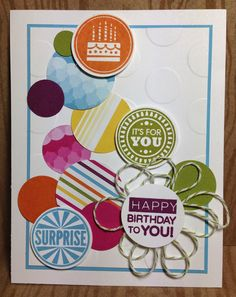 Klompen Stampers (Stampin' Up! Demonstrator Jackie Bolhuis): Amazing Birthday Cards. 6 great samples
