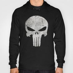 Punisher Hoody / Unisex Pullover Black Front Print https://society6.com/product/it-is-not-justice-it-is-punishment_hoody#7=117&19=144&8=36