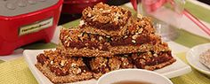 Low-Fat Date Squares