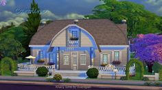 Caroline house by Guardgian at Khany Sims via Sims 4 Updates