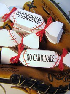 50 Baseball Wedding Favors: Custom DIY kit on Etsy.