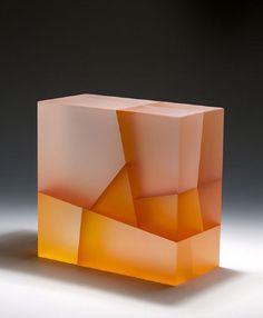 glass sculptures Split Light