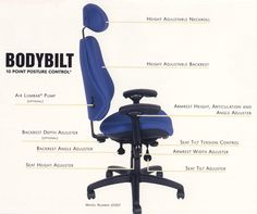 Ergonomics in the workplace - Home Office for modern men - Decoration Top Home Office, Cool Office Desk, Man Office, Best Office Chair, Office Chairs, Desk Chairs, Office Style, Best Ergonomic Office Chair, Ergonomic Chair