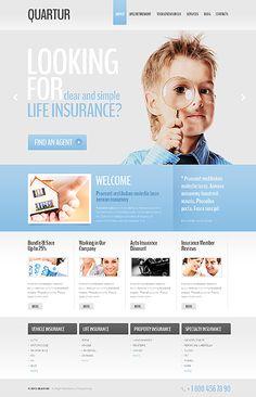 Website Template #design #real estate