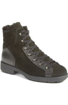 Aquatalia Lettie Weatherproof Lace-Up Boot (Women) available at #Nordstrom