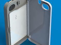 iPhone 4S Credit Card Holder Hinge Case by Coloradodesign