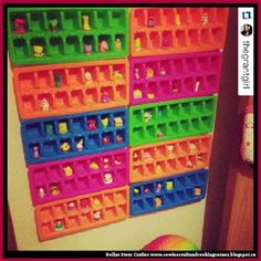 Dollar Store Crafter: Turn Dollar Store Ice Cube Trays Into A Shopkins C...