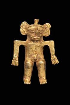Male effigy pendant      Chiriquí, A.D. 700–1550       Chiriquí Province, Panama