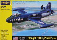 Plastic Model Kits, Plastic Models, Aviation Art, Old Models, Us Navy, Box Art, Scale Models, Planes, Fighter Jets