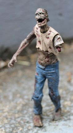 The Walking Dead zombie action figures