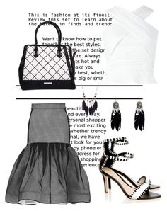 """""""Untitled #2571"""" by janicemckay ❤ liked on Polyvore featuring Maticevski, Loeffler Randall and Kardashian Kollection"""