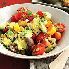 Avocado Salad Recipes, Tuna Salad, Avocado Dishes, Summer Tomato, Beets, Summer Recipes, Potato Salad, A Food, Food Processor Recipes
