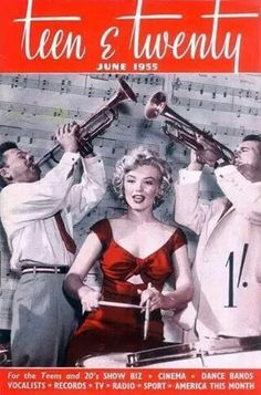 Vintage Marilyn magazine cover