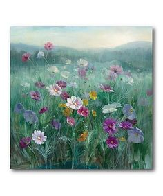 Another great find on #zulily! Cosmos at Dawn Wrapped Canvas #zulilyfinds