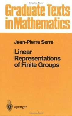 Linear Representations of Finite Groups (Graduate Texts in Mathematics) (v. 42) by Jean-Pierre Serre