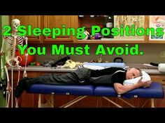 2 Sleeping Positions You Must Avoid. Hip Pain, Neck Pain, Bursitis Hip, Sciatica Pain, What Is Positive, Health And Wellbeing, Physical Therapy, Things To Know, Excercise
