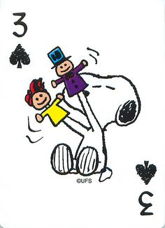 Snoopy Playing Cards | Snoopy comic playing card three. | Mark Anderson | Flickr
