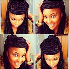 Pin Up Hairstyles For Braids | Find your Perfect Hair Style
