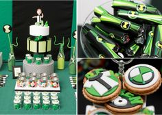 Ben 10 Alien Themed Birthday Party - Kara's Party Ideas - The Place for All Things Party