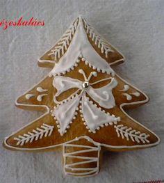 Mézekalács karácsonyfa