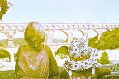 japanese vacationism, france, pont du gard, revolog #france #pontdugard  #revolog Pont Du Gard, France, Taj Mahal, Japanese, Places, Pictures, Photos, Japanese Language, Grimm