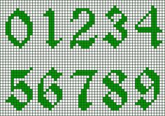 Patrones de números | Aprender manualidades es facilisimo.com