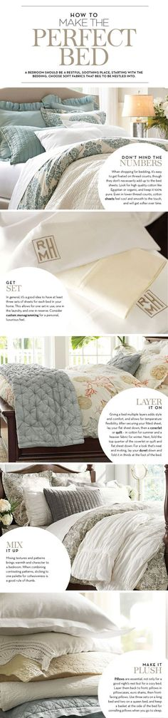 Make a Perfect Boutique Hotel Style Bed | The Budget Decorator
