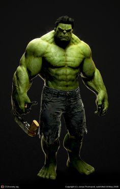 CGTalk - The Incredible Hulk, Jonas Thornqvist (3D)