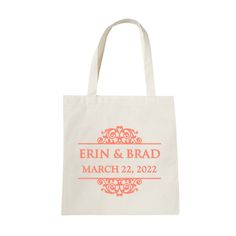 Personalize this polypropylene tote bag to offer as a wedding favor or wedding party gift! Made of 80 gram non-woven polypropylene with handles, your guests can use this bag for shopping trips or running errands long after your special day! Wedding Welcome Bags, Gifts For Wedding Party, Catchy Phrases, Popular Colors, Personalized Wedding Favors, Best Memories, Wedding Bridesmaids, The Balm, Essentials