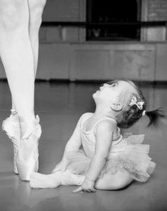 A little ballerina , from Iryna (melts your heart all that cuteness)