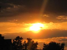 Agawam, MA Sunset - 5/30/2012
