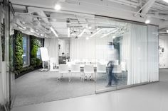 B+L HQ pharmaceutical corporate office Warsaw / Poland / 2012