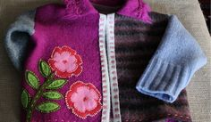 upcycled wool felted sweater | Flickr - Photo Sharing!