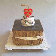 Fudge Layer Cake With Chocolate Ganache, by Patianne Stevenson