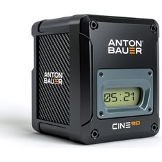 Anton Bauer Cine 90 VM - The CINE battery series is ideal for digital cinema cameras and camera stabilizer systems. Its durable, industrial design and footprint complements cine-style cameras such as the ARRI ALEXA Mini and RED Weapon and functions on all existing Anton/Bauer chargers.