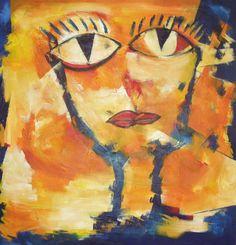 """""""Vuelve a la Vida"""" - Paula Weiszkopf - Acrílico - 100 x 100 cm. www.esencialismo.com"""