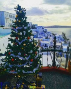 ~ Merry Christmas everyone ~ ! Believe in the Magic of the season ! 🎅🏻🎄🌟 📍Santorini island (Σαντορίνη)